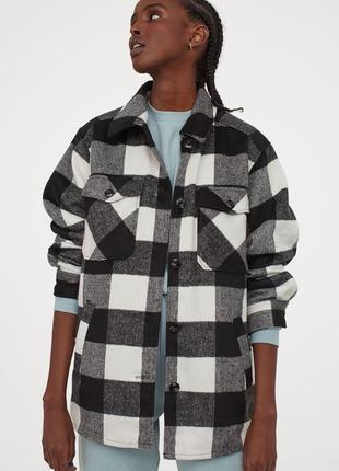 H&m сорочка рубашка куртка