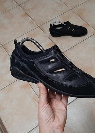 Замшевые кроссовки,туфли,ботинки rieker (рикер)