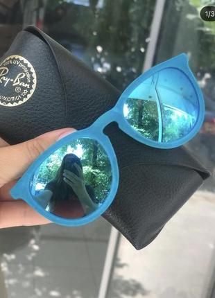 Бархатистые очки ray ban