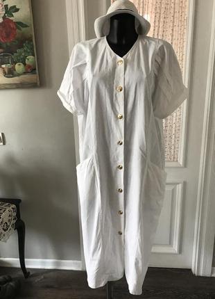 Платье-халат винтаж
