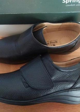 Туфли spring step сша кожа анатомические