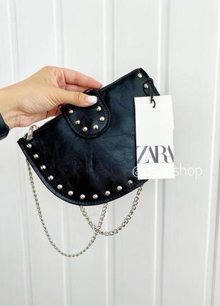 Кросбоді сумка zara