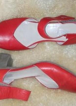 Khrio шкіряні туфлі босоніжки