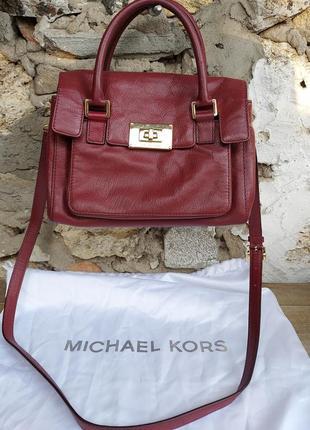 Michael kors сумка оригинал кожа 27*26*14