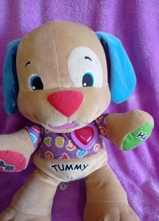 Интерактивная игрушка, фишер прайс, умный щенок