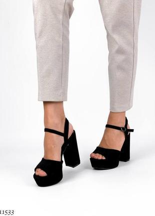 Босоножки на каблуке, босоножки на платформе