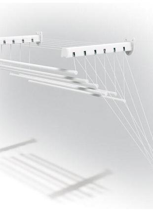 Новая сушилка сушка для белья gimi lift 120 потолочная и настенная