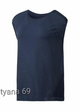 Майка сrivit бесшовная зональная спортивная,футболка без рукавов, одежда для фитнеса