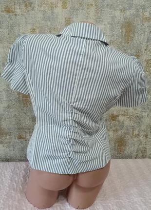 Классный, модный стильный пиджачок в полоску2 фото