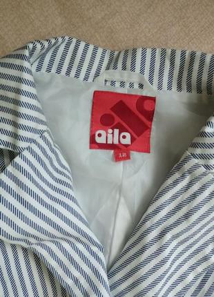 Классный, модный стильный пиджачок в полоску4 фото