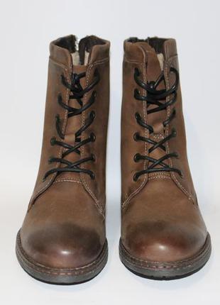 Ботинки зимние 37р (нат.кожа)