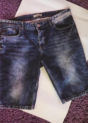 Шорты джинсовые xl