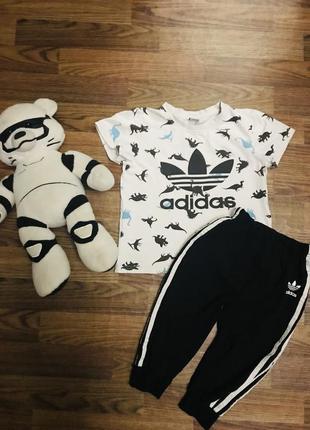 Детский летний костюм adidas 110-120