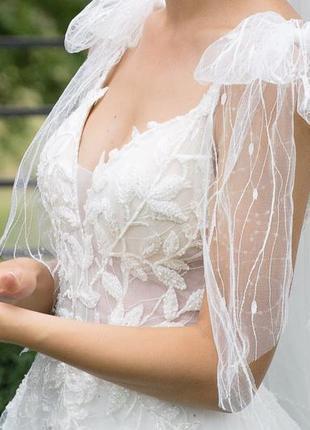 Свадебное платье, дизайнера  anna sposa, а- силуэтное
