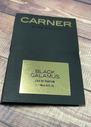 Парфюмированная вода carner black calamus