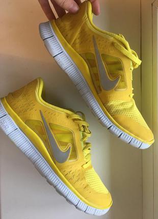 Nike free run кросовки для фитнеса и зала р39-40