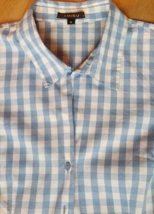 Женская рубашка в клетку!