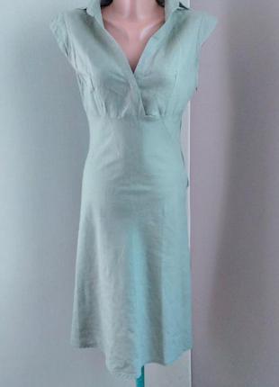 Льняное платье по фигуре amisu