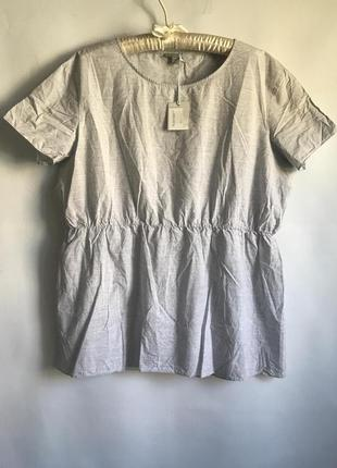Лёгкая хлопковая блуза cos