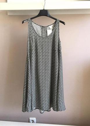 Натуральное,свободное платье