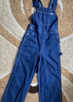Крутой джинсовый комбинезон lee💙 s/m