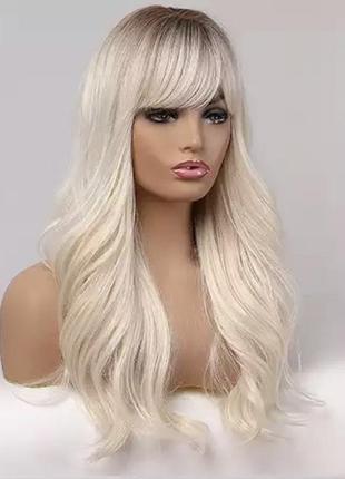 Парик/перука холодний блонд