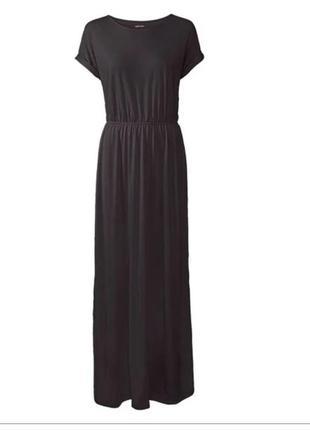 Актуальное макси платье esmara германия черное