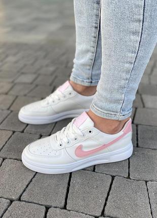 Белые базовые кеды кроссовки на лето 👍4 фото