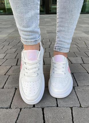 Белые базовые кеды кроссовки на лето 👍2 фото