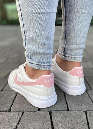 Белые базовые кеды кроссовки на лето 👍3 фото