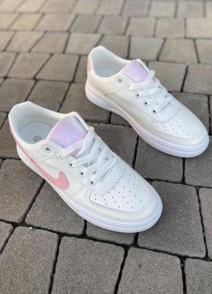 Белые базовые кеды кроссовки на лето 👍5 фото