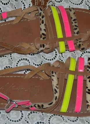 Босоніжки сандалі шкіра il piacere розмір 41, сандали кожа