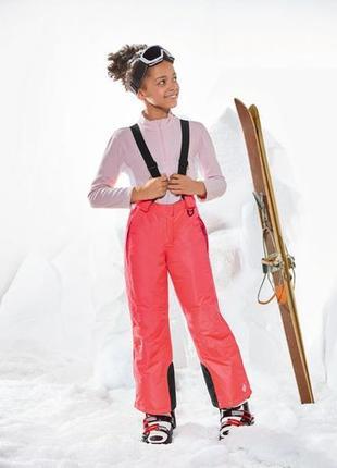 Брак! лыжные штаны crivit для девочки 12-14 лет.