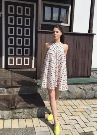 Воздушное платье дизайнерское от tina petrakova!1 фото