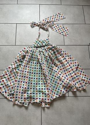 Воздушное платье дизайнерское от tina petrakova!4 фото