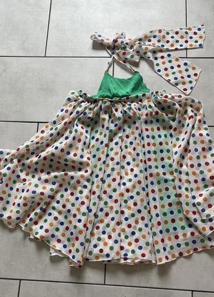Воздушное платье дизайнерское от tina petrakova!5 фото