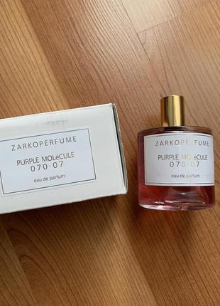 Духи zarkoperfume purple molecule 070.07 tester 100 ml.