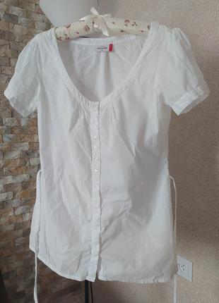 Легкая хлопковая блуза  benotti