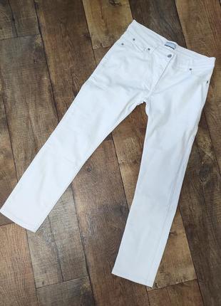 Брюки штаны джинсы белые женские жіночі м летние