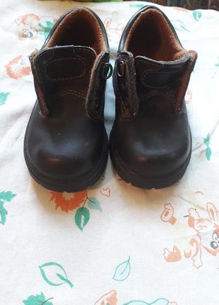 Ботинки кожа новые