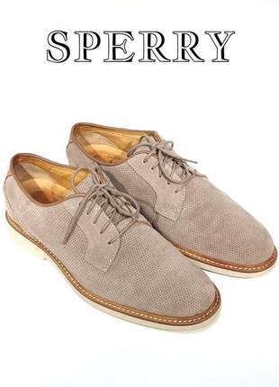 Кожаные мужские туфли sperry оригинал