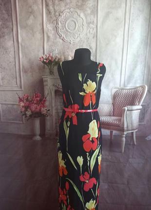 Мега стильное платье сарафан миди