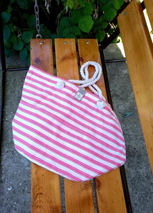 Сумка оверсайз / шопер / сумка на море / сумка для отдыха