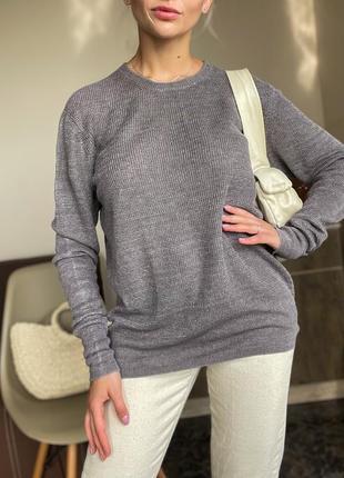 Льняной свитер, кофта, светер  allsaints оригинал