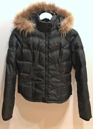 Пуховик куртка tommy hilfiger оригинал