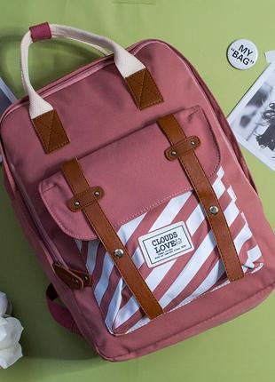 Городський, спортивный рюкзак, шкільний портфель, школьный ранець, стильный