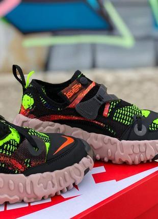 Шикарные кроссовки унисекс nike ispa overreact flyknit наложка3 фото