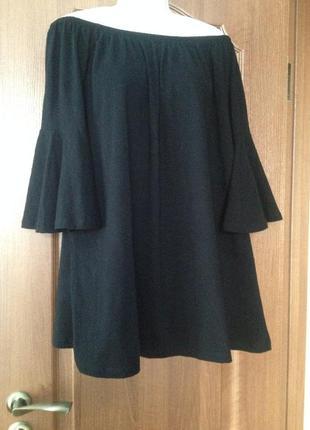 Черная блузка блуза  asos. новая с ярлыками.