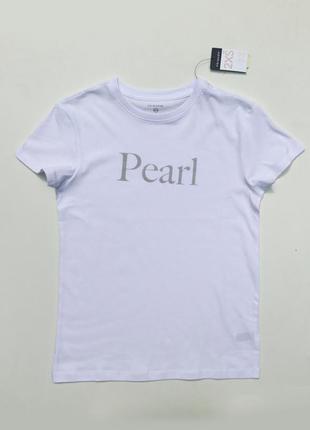 Фирменная белая футболка primark