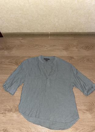 Майка, блузка повседневная, кофточка  с четвертной рукавом